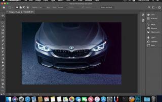 Adobe Photoshop Course Car