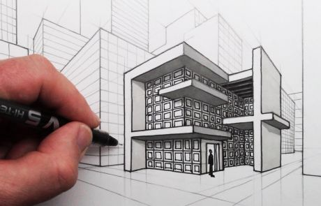 Perspective Drawing exterior
